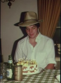 Young Clark Gregg