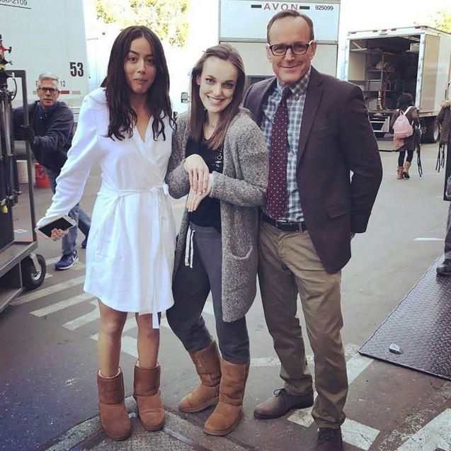 Chloe, Liz & Clark