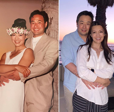 Ming-Na & Eric, still deeply in love after 25 years ❤️