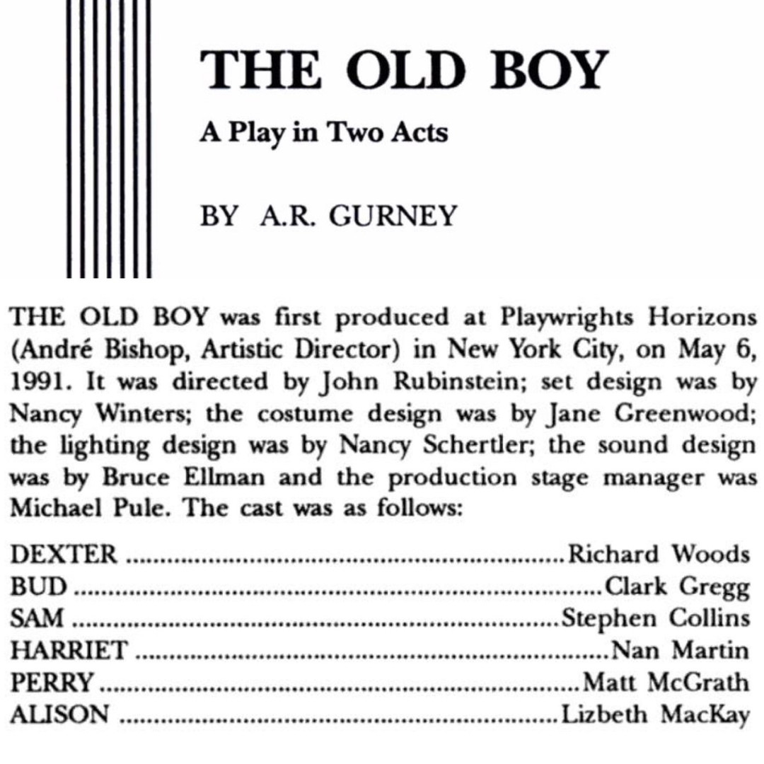 The Old Boy (1991)