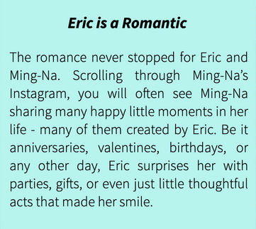 Eric is a Romantic