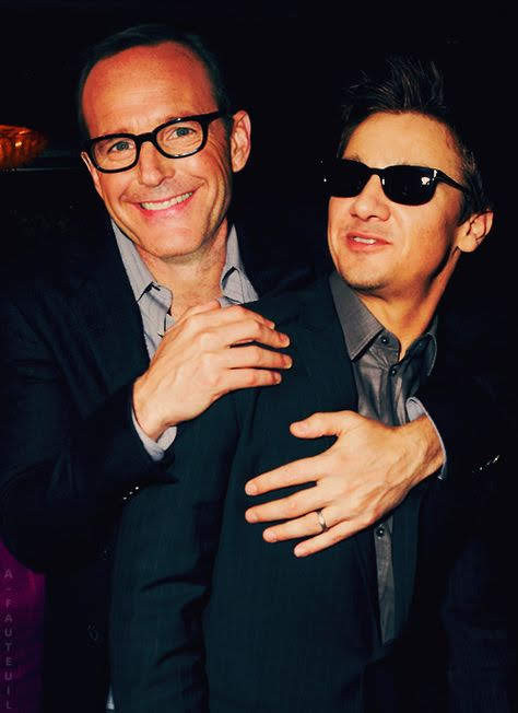 Clark and Jeremy Renner
