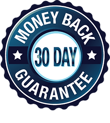 30-day-money-back-guarantee-badge - blue