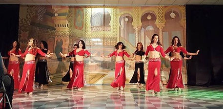 Dansoleil Belly Dance Theater in action.
