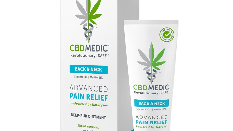 CBD Medic Back & Neck