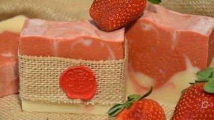 Strawberries&Champagne Goat Milk Soap