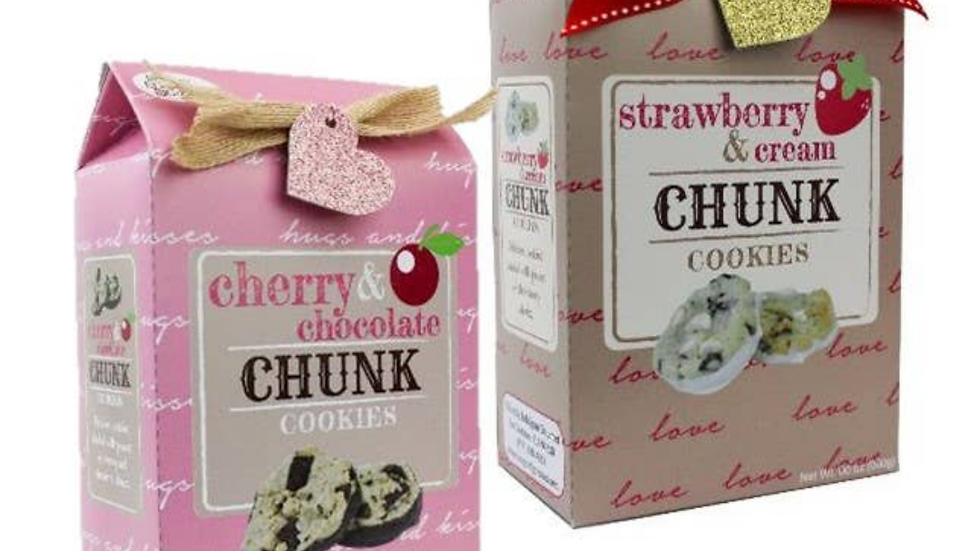 Valentine's Super Chunk Cookies