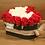 Thumbnail: Box rose en forma de corazón de 30 rosas