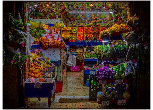 "Rompecabezas ""Mercado en Barcelona"" - 300 fichas"