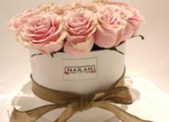 Box rose negra o blanca de 20 a 25 rosas dependiendo de su tipo
