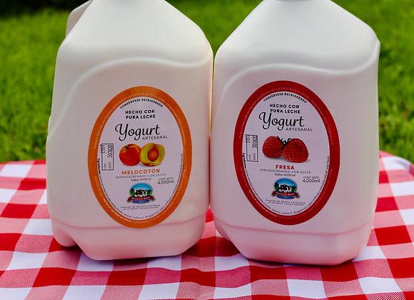 2 yogures de 4 litros a elección