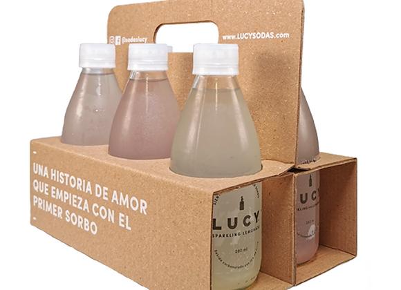Six Pack Lucy Limonadas