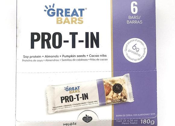 Barras nutricionales Protin - x6