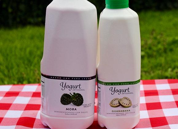 1 yogurt de 1000ml y 1 Yogurt 1800ml a elección