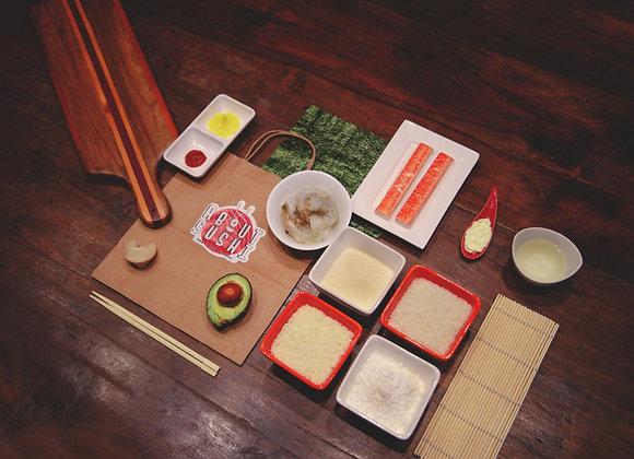 Kit de Sushi Tempura con Instrucciones