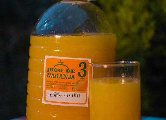 Jugo de Naranja 3 Litros