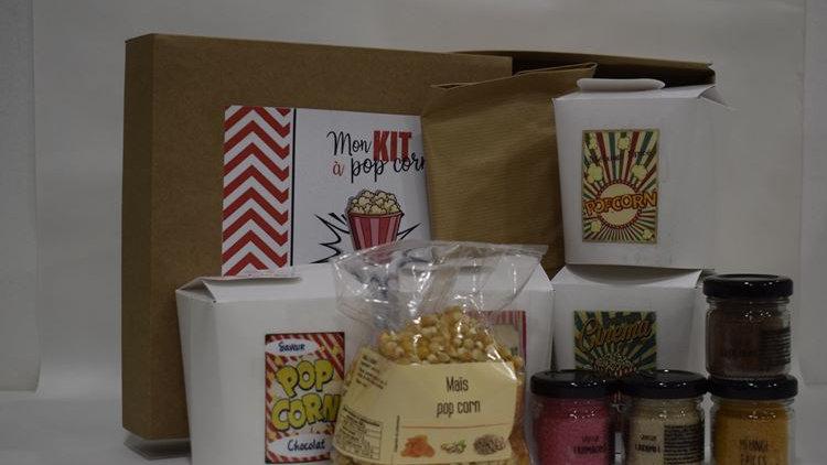 Coffret kit pop corn