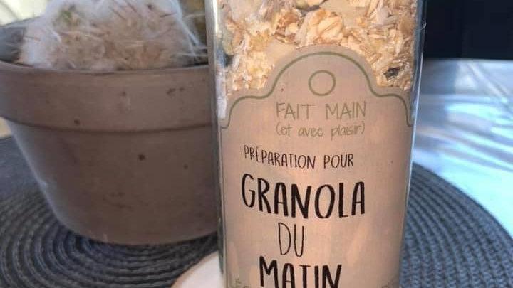 Préparation pour granola