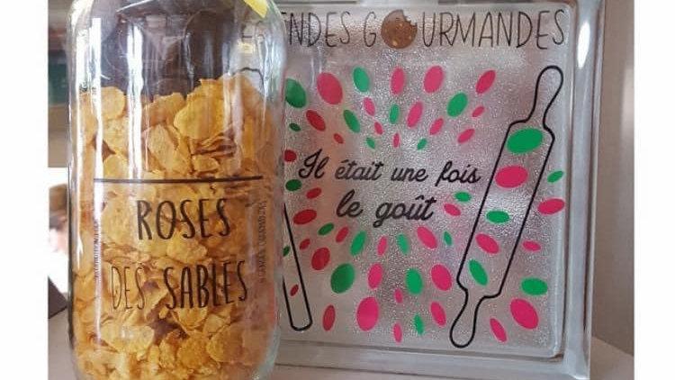 Kit roses des sables