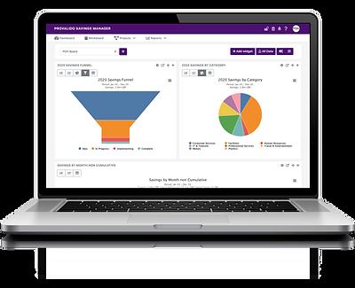 procurement savings project creation