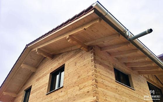 Massivholzhaus Holzhaus Isolierung