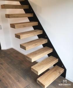 Freischwebende Treppe