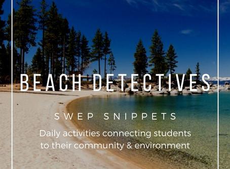 Be A Beach Detective