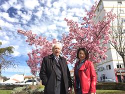 José Cabeza y Yumi Sakurada