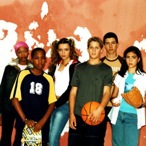 Sporty Teens