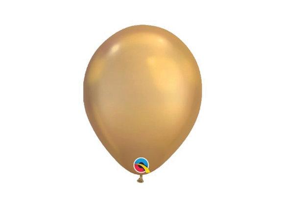 #25 שקית של בלונים - Chrome gold