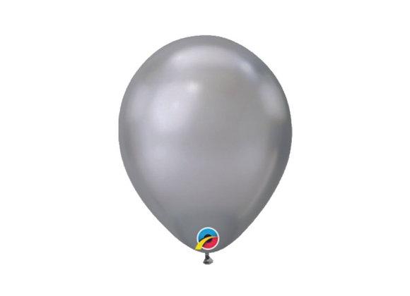 #29 שקית של בלונים - Silver chrome