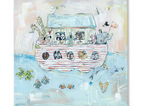 Noah's ark II on canvas