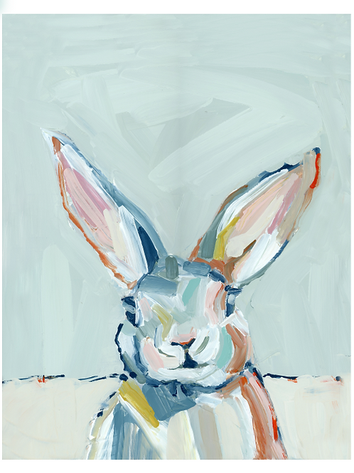 Bunny Love on paper