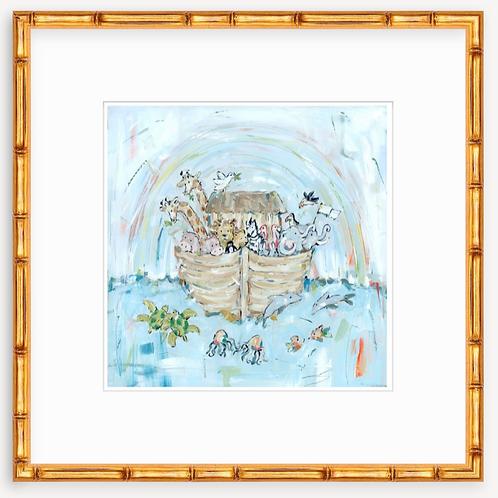 Noah's ark III on paper