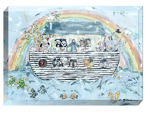 Noah's Ark acrylic blocks