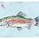 Thumbnail: Rainbow Fish on paper