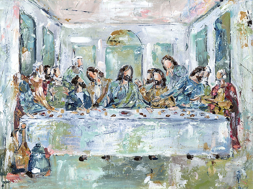 The Legacy Meal I on paper