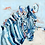 Thumbnail: Blue Stripes on paper