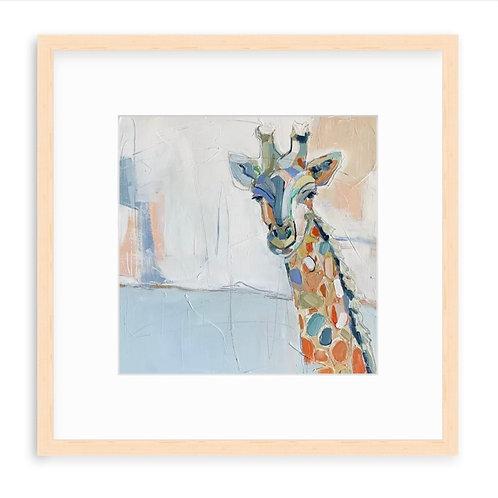 Gio Giraffe on paper