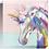 Thumbnail: Rainbow Unicorn Acrylic block