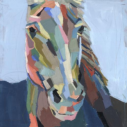 Bonnie on canvas