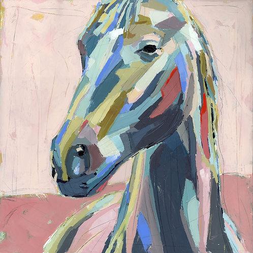 Molly on canvas