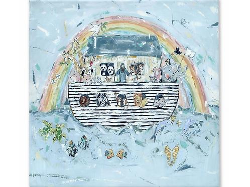 Noah's ark I on canvas