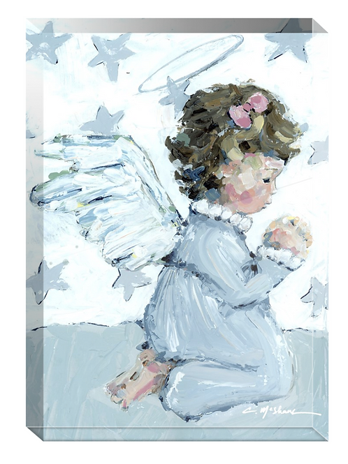 Tiny Wings IV acrylic block