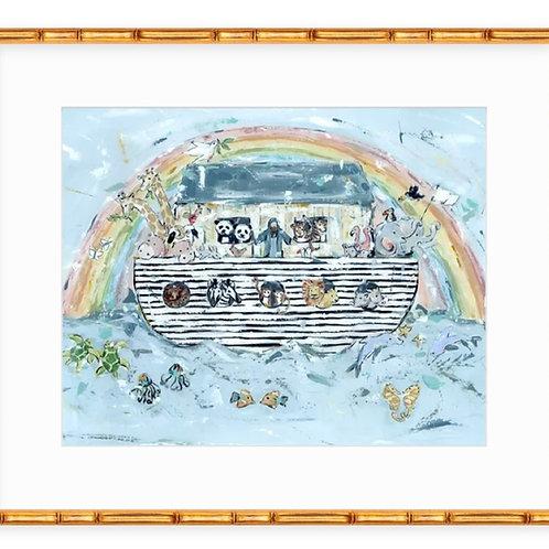 Noah's ark I on paper