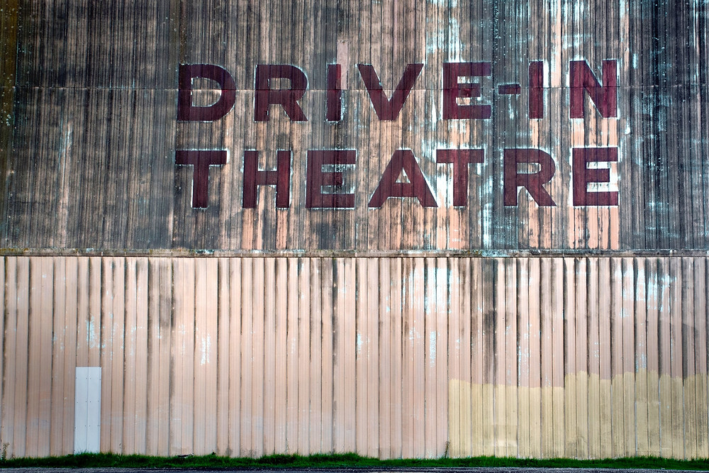 Drive-In Theatre Sign