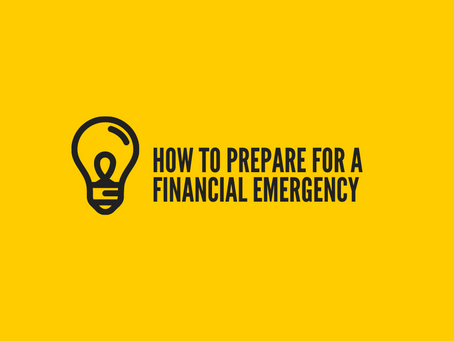 4 Ways to Prepare for a Financial Emergency