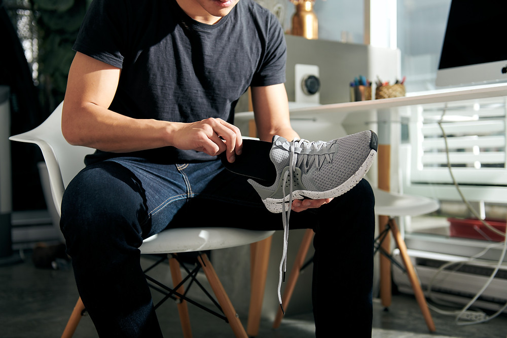 Orthotics in Shoe