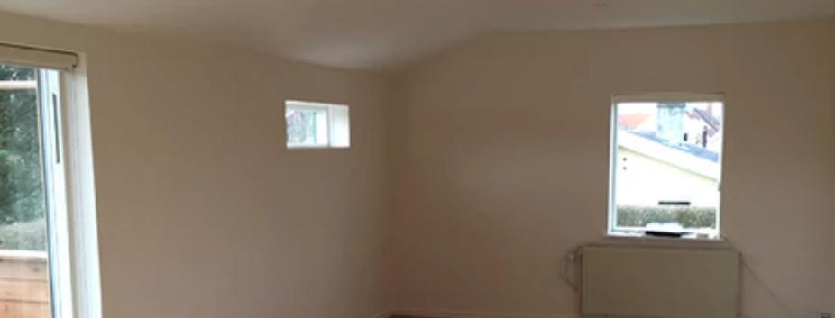 Malerarbejde i stue