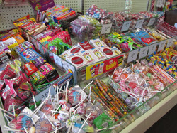 Our old-fashioned candy counter